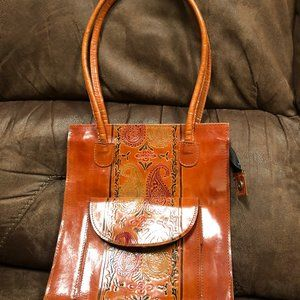 New Mexican Leather Shoulder bag